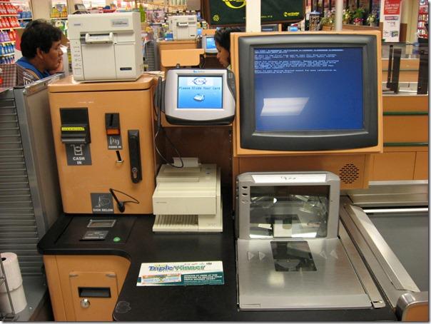 bsod-on-self-checkout-machine